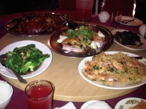 Monthly VGMC Club dinner @ Bagan Seafood, Klang - 31 Mar 2012
